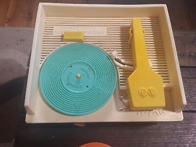 Vintage toy Fisher Price childrens Record Player