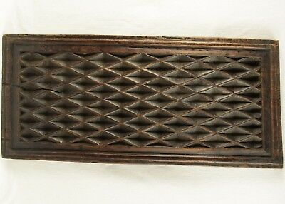 Late 1600's- Early 1700's Antique Oak Wooden Architectural Panel