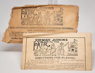 Jermiah Judkin's Trip to the Fair 1893 Columbian Exposition game Woolson Spice