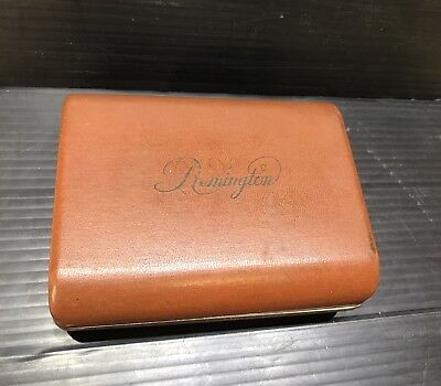 Vintage Remington 60 Deluxe Electric Razor With Box And Power Cord