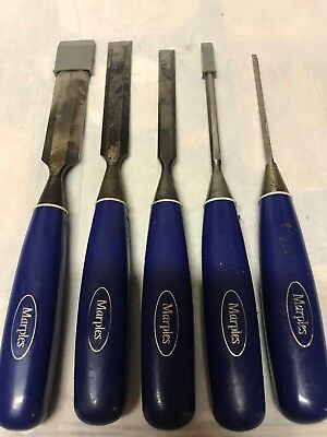 Set Of 5 Marples Chisels