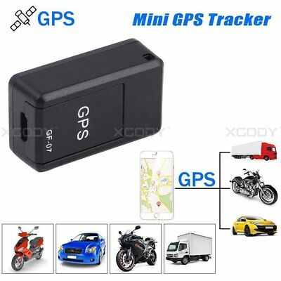 Mini Magnetic GF-07 SPY GSM GPRS GPS Tracker Real Time Tracking Locator Device