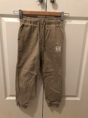Boys Rusty Drop  Crouch Pants Size 4