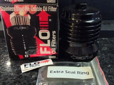 New In Box FLO Reusable Oil Filter PCS4B