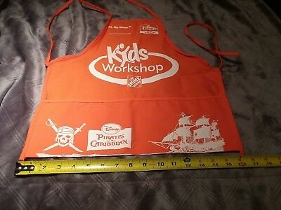 Home Depot Kids Workshop Apron Pirates Of The Carribean
