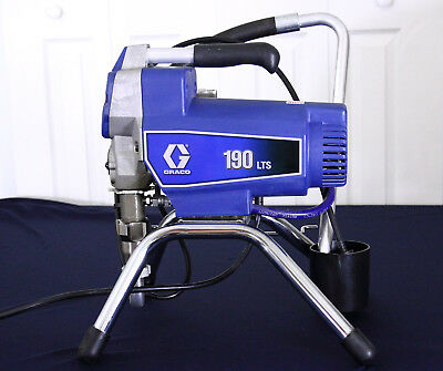 Graco Paint Sprayer 190ES or 190LTS contractor grade with new hose and gun