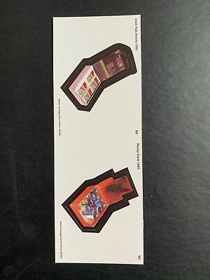 NEW Lost Wacky Packages BOX STICKER SERIES 5/5 DOUBLE Bonus Stickers