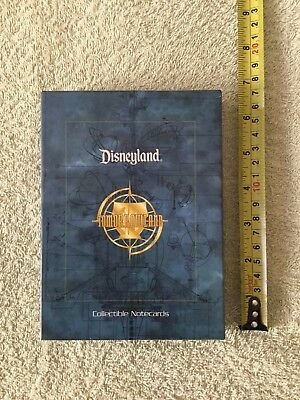 Disneyland Collectible Note Cards - 1998 - box set*   Vintage Attractions...