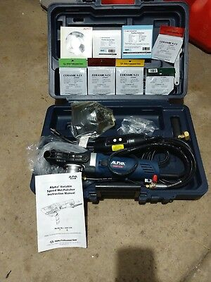 Brand NEW! Alpha Pro Tools VSP-120 Granite/Marble Polisher In Case, with extras