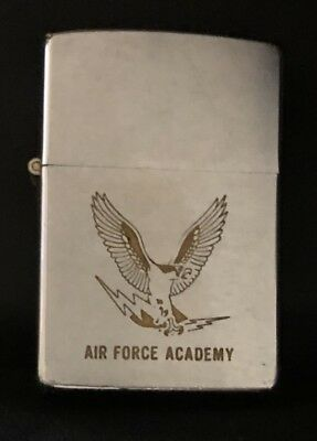 Zippo Lighter Air Force Academy 1971 Preowned Looks Unfired