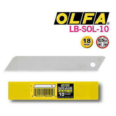 OLFA 18mm Replacement Blades Heavy-Duty Snap-Off  50PCS 10P x 5 Set OLFA LBD-10