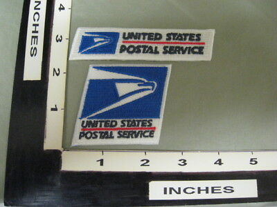 Post Office Postal Patches  U.s. Postal Service Letter Carrier Mailman New  #06