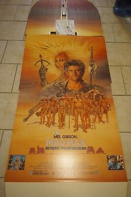rare Mad Max movie promo standee mint Mel Gibson 80s video shipper Halloween