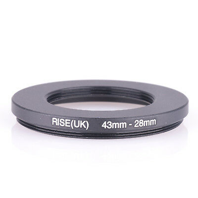 43-28MM 43 MM- 28 MM 43 to 28 Step Down Ring Filter Adapter 43-28