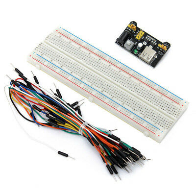 Breadboard 65 Jumper Cable Electronic Shield Experimental Universal 830 Points