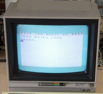 Commodore 1701 CRT monitor for the C64 VIC-20 128 etc.