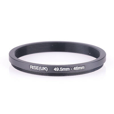 49.5mm to 46mm Step-up Step Up Camera Lens Filter Ring Adapter 49.5-46 mm