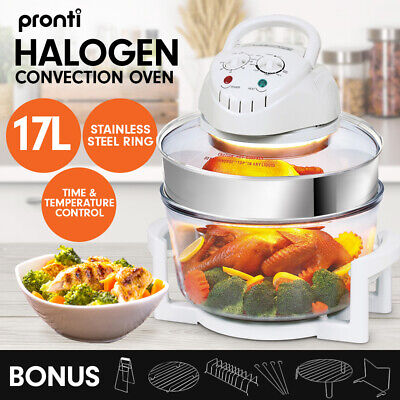 Pronti 17L DIGITAL TURBO CONVECTION OVEN ELECTRIC COOKER AIR FRYER 1400W  COOK
