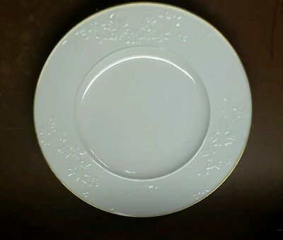 "KPM Royal Berlin FIELD FLOWERS 14 1/4"" Round Charger Chop Plate Embossed Floral"