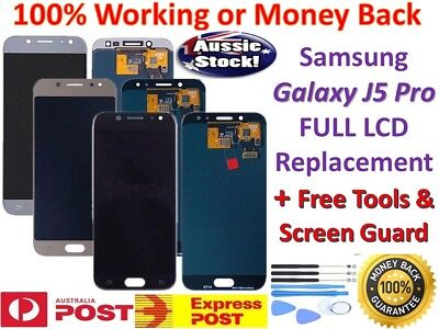 For Samsung Galaxy J5 Pro 2017 J530 Touch Screen Digitizer LCD Display +Tools