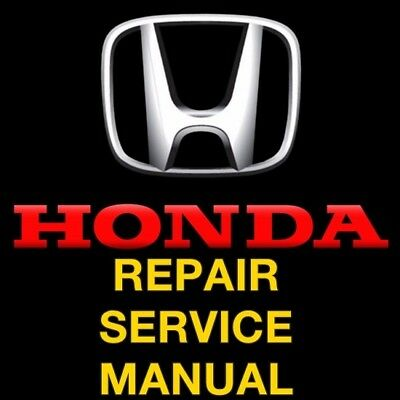Honda Civic 1996 1997 1998 1999 2000  Repair Service Manual