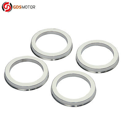 Set of 4 Wheel Hub Centric Rings Alloy Aluminum OD=73.1mm To ID=54.1mm Hubrings