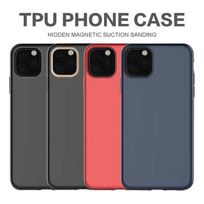 Shockproof Magnetic Frosted TPU Case Cover For iPhone XS Max XR X 6 6s 7 8 Plus