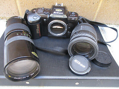 NIKON collection Vintage old Camera & Lenses Working for collector/use/parts