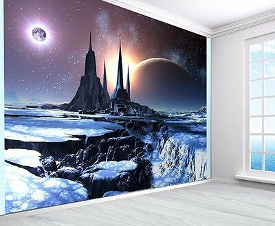 Alien planet Space tundra wallpaper photo wall mural (10480248) space