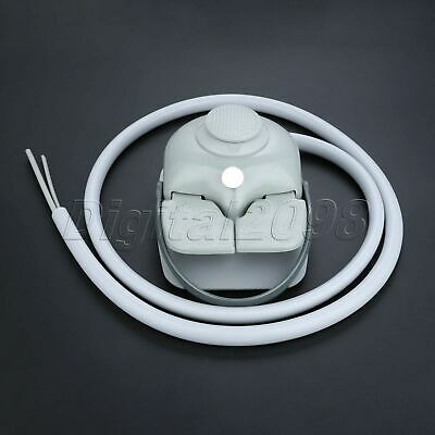 Dental Supplies Multifunctional Foot Control Pedal Switch +4Hole Tube Hose Cable