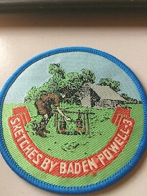 Girl Guides / Scouts Sketches by Baden Powell 3