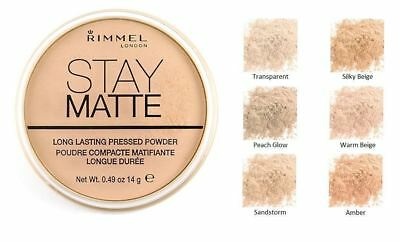 RIMMEL Stay Matte Pressed Powder 14g - CHOOSE SHADE - NEW