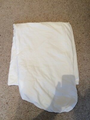 Super King White Fitted Sheet From John Lewis