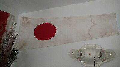 WWII Imperial Japanese Navy Submarine Flag.
