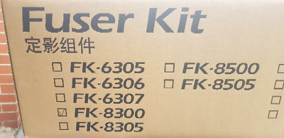 Original Kyocera FK-8300 FUSER UNIT Fuser 3050ci/3550ci NEW