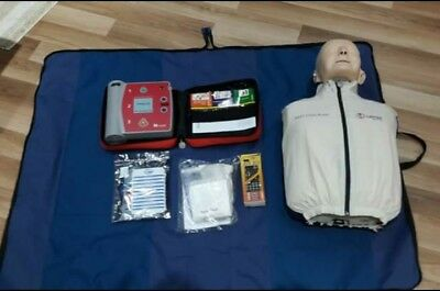 First Aid Training Anne & AED Set
