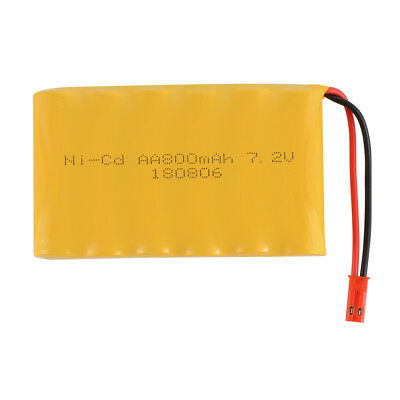 4.8V 800mAh Ni-Cd Rechargeable Battery JST Plug for RC Car Boat Model Toy BC764