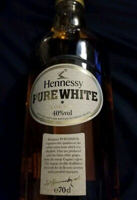 HENNESSY PURE WHITE Not Empty.