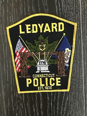 Ledyard Ct Connecticut Police Department Officer Patch Current Issue