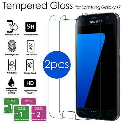 For Samsung Galaxy S7 – 100% Genuine Tempered Glass LCD Screen Protector – Clear
