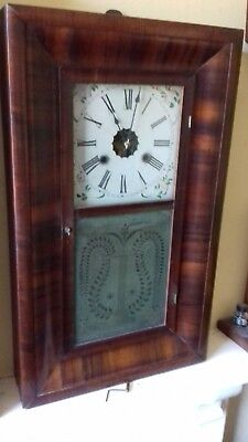 ANTIQUE.' American Clock Co.'  OG  Shelf clock