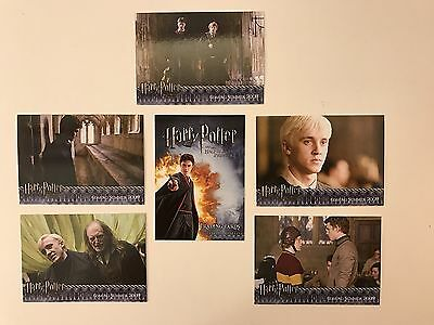 Promo Cards: Harry Potter & The Half-Blood Prince: 6 Different #1-#5 & #Sd08 P1