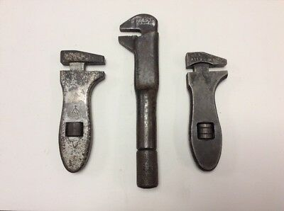 3- Different Types Of Small Adjustable Spanners