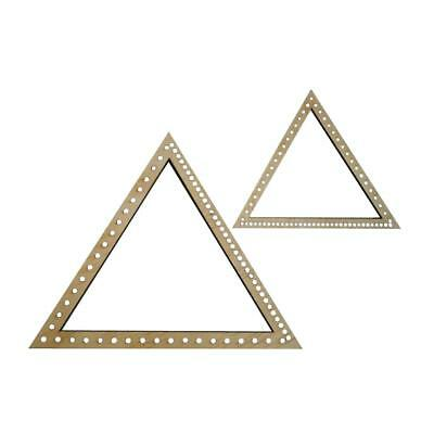 Triangle Weaving Needepoint Loom Crafts DIY Handmade Wall Hangings Decorations