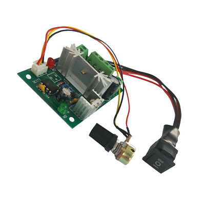 DC 6A Motor Speed Control Reversible PWM Controller Switch DC 6V 12V 24V