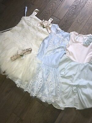 Kate Mack Bundle 3 Occasion Dresses Age 10 Years