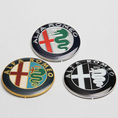 ALFA ROMEO 74mm 7.4cm Car Logo Emblem Badge for Mito 147 156 159 166 Giulietta