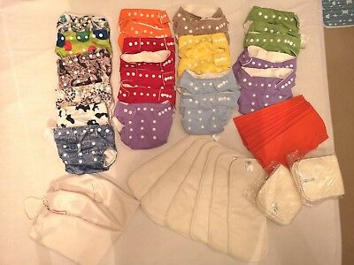 Nappy covers and nappy inserts * BUNDLE *