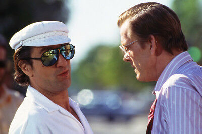Cape Fear Robert De Niro In White Shirt And Hat With Nick Nolte Large Poster
