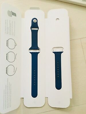 Original Apple Armband, Ocean Blue für die Apple Watch 38mm